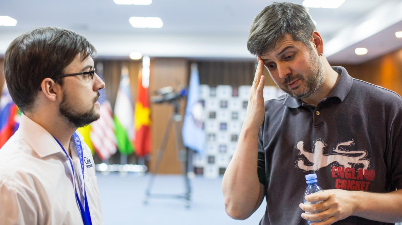 Vachier-Lagrave Knocks Out Svidler At World Cup