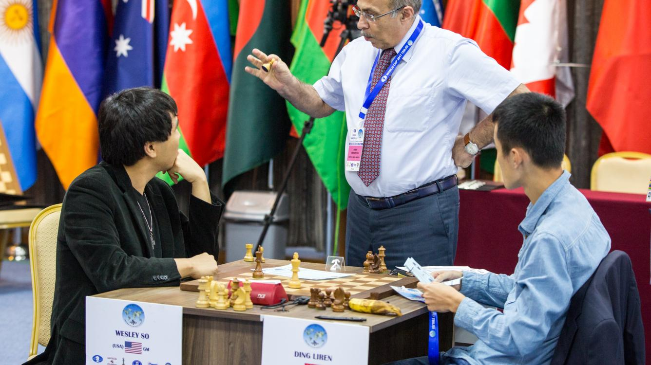 Aronian-MVL, Ding-So Go To Tiebreaks
