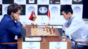 World Cup Final Still Even; Ding White In Game 4