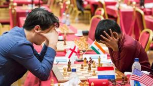 Carlsen i delt ledelse etter femte runde av Isle of Man's Thumbnail