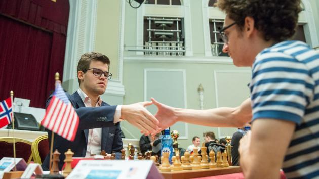 Île de Man : Carlsen et Nakamura au coude-à-coude