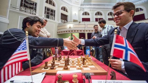 Карлсен занял первое место на Международном турнире Chess.com на острове Мэн в 2017 году