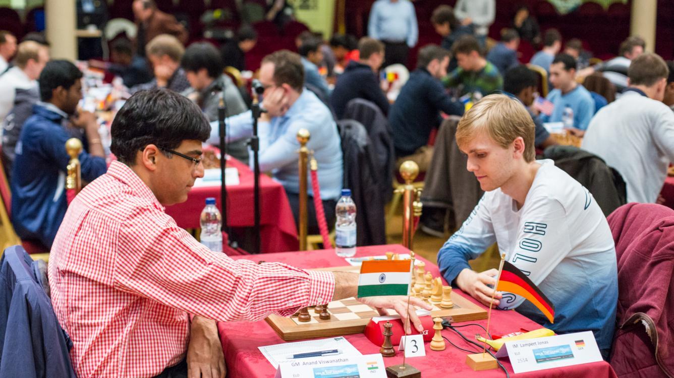 Alman IM'ler Anand ve Caruana ile Berabere Yaparken; Carlsen, Nakamura Hala Tam Puanda
