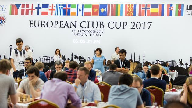Клубный кубок Европы стартовал, но Крамник пока не сел за доску