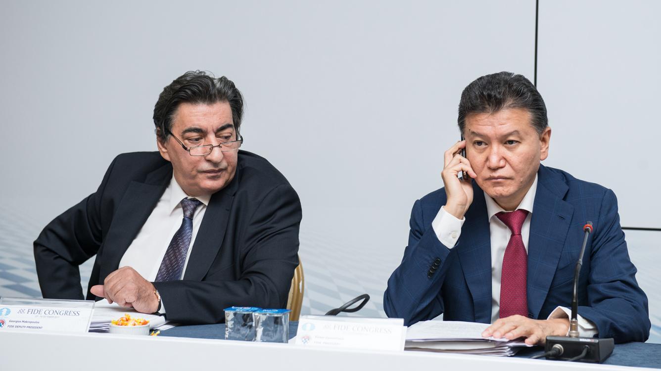 Executive Board Asks Ilyumzhinov Not To Run For President