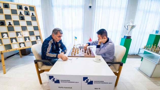 Ivanchuk Beats Wei Yi In Fascinating Hoogeveen Match