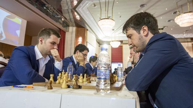 Италия победила Азербайджан в первом туре Командного чемпионата Европы