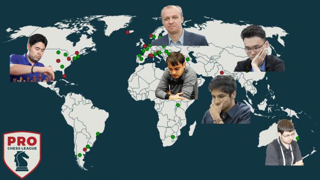 6 Teams sind für die PRO Chess League qualifiziert