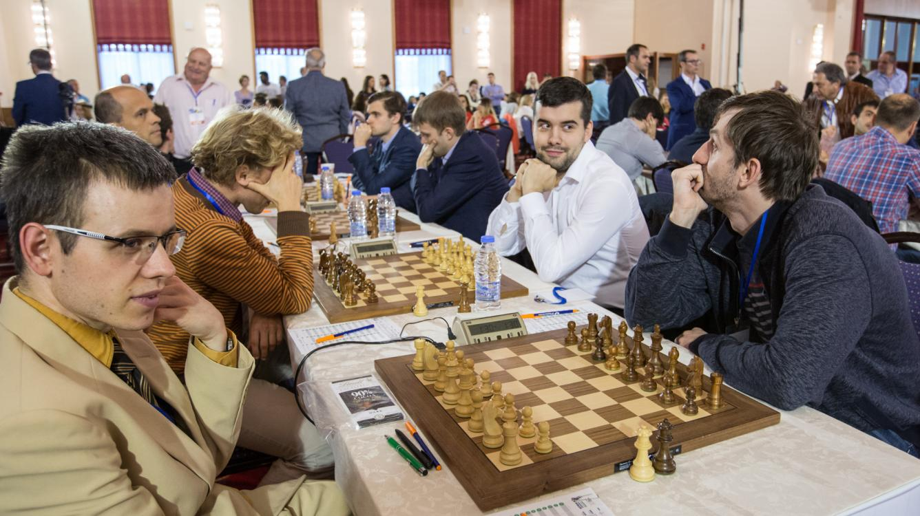 With Only 3 Board Wins Russia Leads European Teams