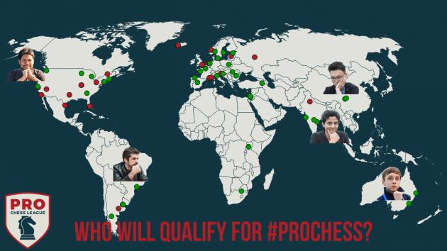 6 Times Se Qualificam Na PRO Chess League - Você Escolhe Mais 2!
