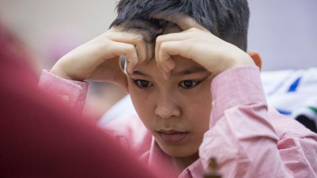 Abdusattorov (13) er tidenes nest yngste stormester