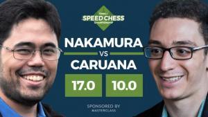 Speedchess Viertelfinale: Nakamura besiegt Caruana mit 17:10's Thumbnail
