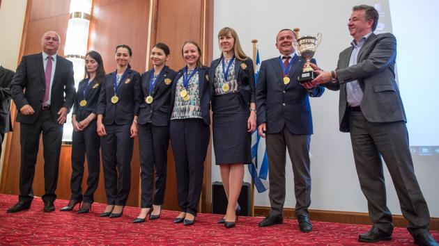 Russian Women Rule At European Team Championship