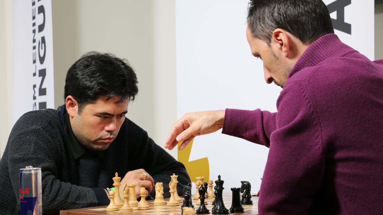 Carlsen Wins His Day One As Caruana, So Make Their Move