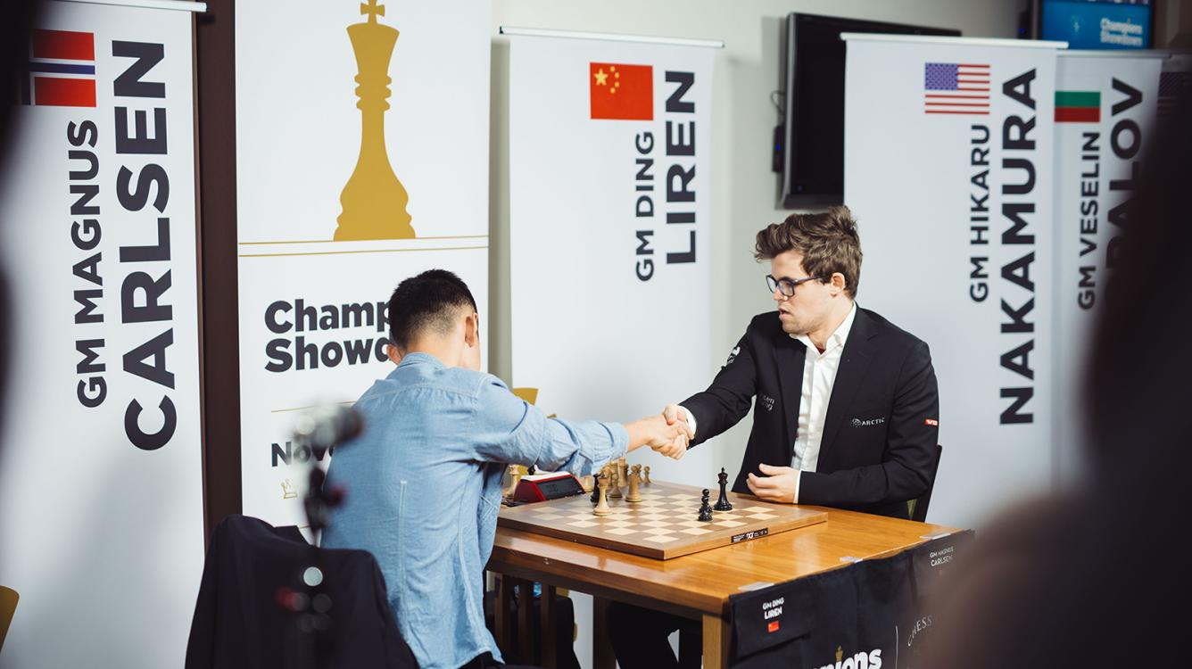 Carlsen Demolishes Ding, Wins With Day To Spare