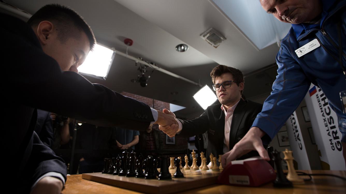 Carlsen-Ding Biggest Champions Showdown Win