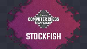Иконка Stockfish побеждает в чемпионате Chess.com среди компьютерных программ