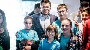 Bloody Sunday Produces Six Winners, Aronian As Sole Leader