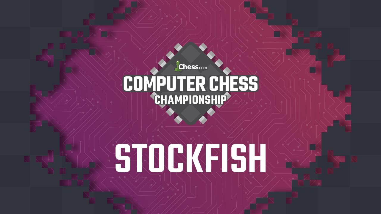 Stockfish gana el Campeonato de módulos de ajedrez