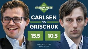 Carlsen In Speed Chess Final After Beating Grischuk's Thumbnail