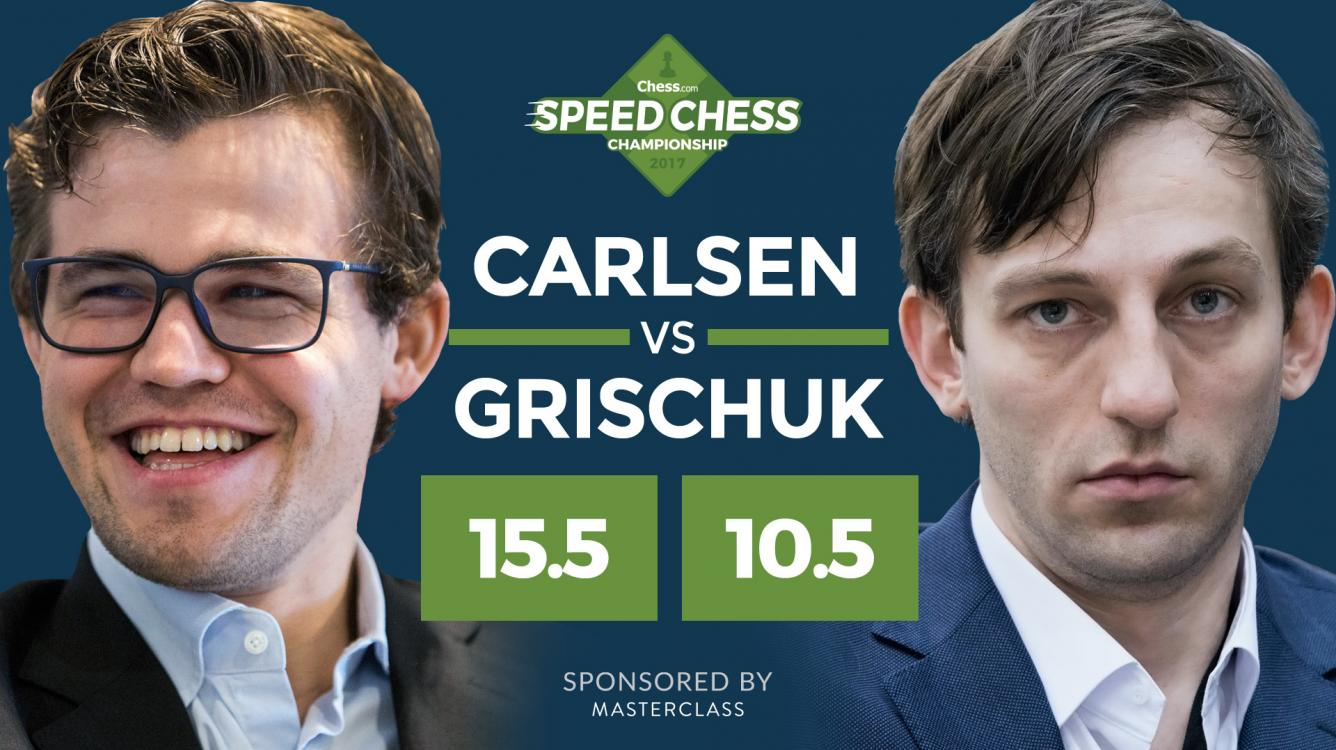 Carlsen In Speed Chess Final After Beating Grischuk