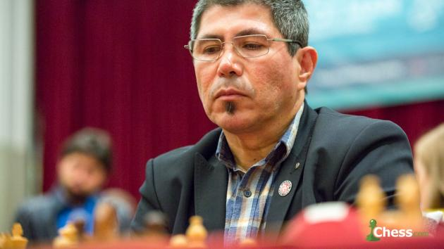 Julio Granda, campeón del mundo de ajedrez senior