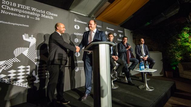 World Chess Championship 2018 To Be Held In London