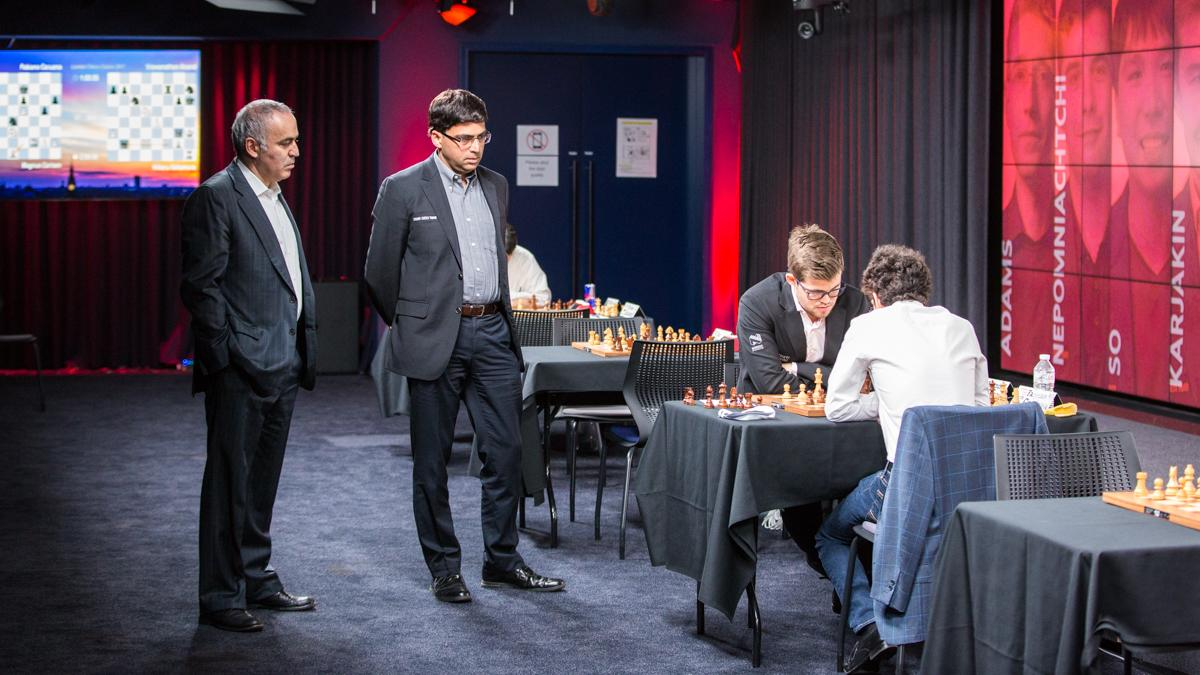 Grand Chess Tour's Final Leg Takes Off In London