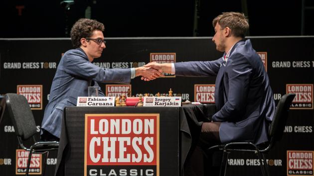 Caruana Breaks Spell, Beats Karjakin In London