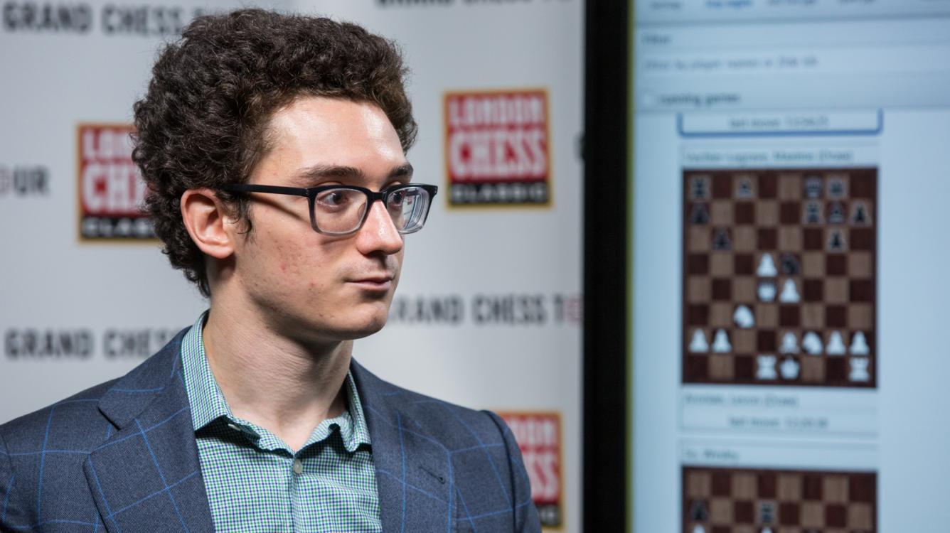 Caruana Again Only Winner In London