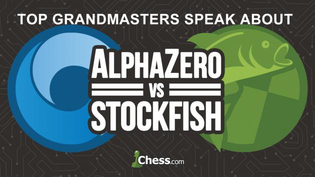 AlphaZero: Reações de GMs Altamente Cotados, do Autor de Stockfish