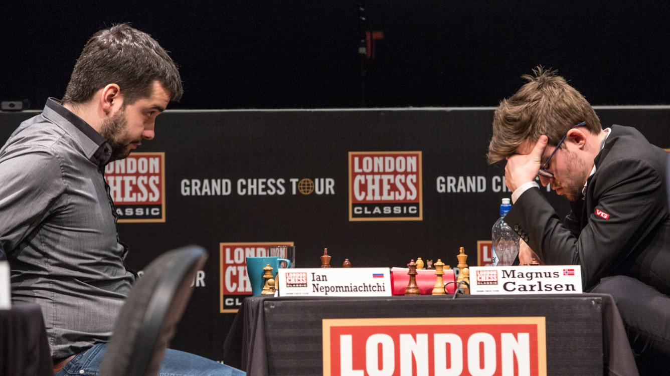 Nepomniachtchi Clear 1st In London By Beating Struggling Carlsen