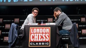 Caruana Tops London; Carlsen Wins Grand Chess Tour's Thumbnail