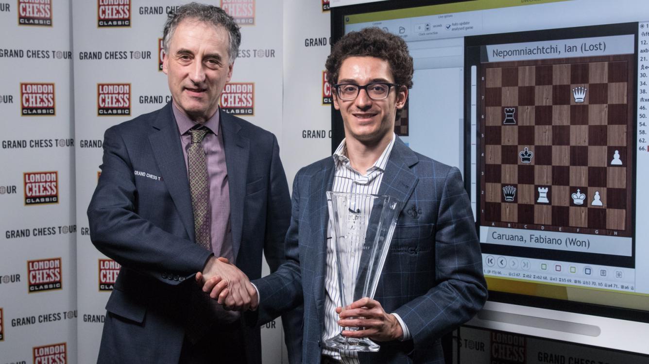 Caruana Tops London; Carlsen Wins Grand Chess Tour