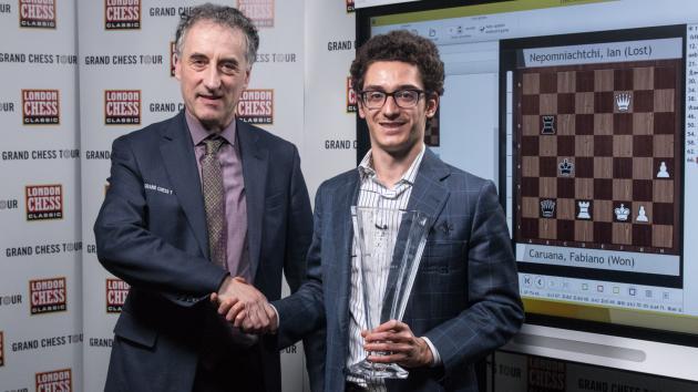 Caruana gagne à Londres, Carlsen remporte le Tour