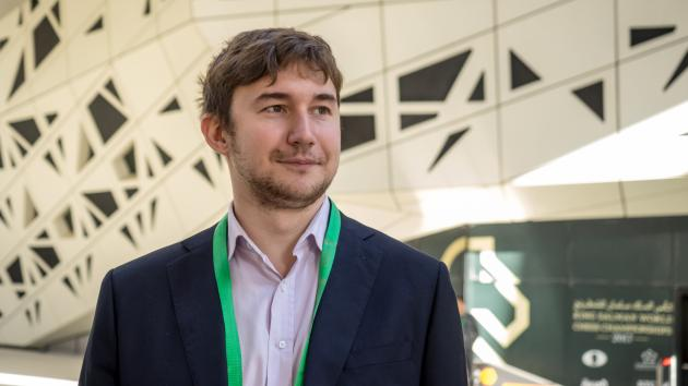 Karjakin Leads World Blitz Halfway; Carlsen 2 Points Behind