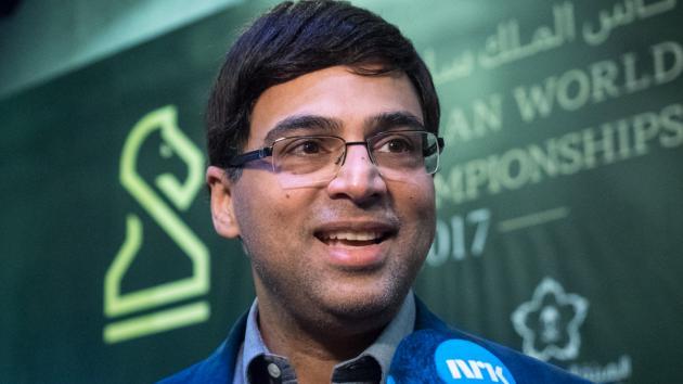 Vishy Anand gana el Mundial de rápidas de ajedrez