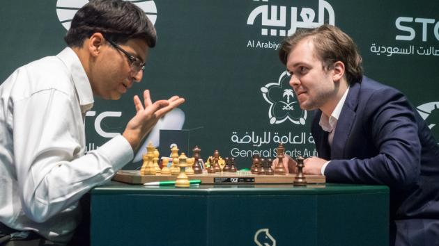Ананд и Федосеев побеждают на чемпионате мира по быстрым шахматам 2017 года