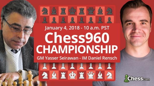 Thursday: 1st Chess.com Chess960 Championship