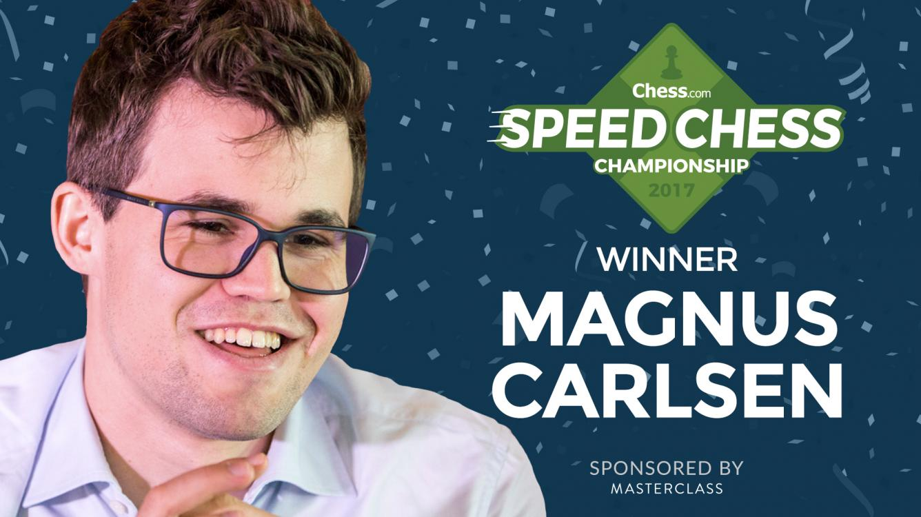 Carlsen Beats Nakamura, Wins Speed Chess Championship