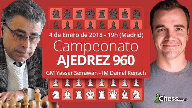 Presentación del 1r Campeonato de Ajedrez 960