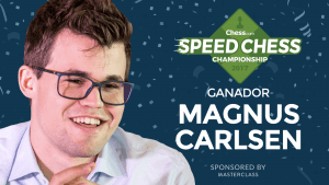 Miniatura de Carlsen vence a Nakamura en la final del Speed Chess