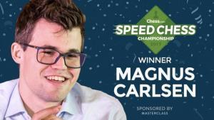 Carlsen pokonuje Nakamurę i triumfuje w Speed Chess Championship's miniatury