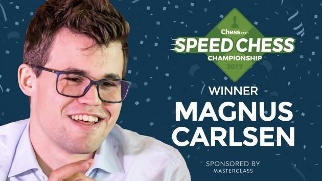 Carlsen pokonuje Nakamurę i triumfuje w Speed Chess Championship