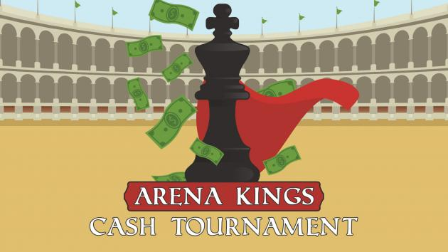 Arena Kings | Cash Prize Chess Tournament For Streamers
