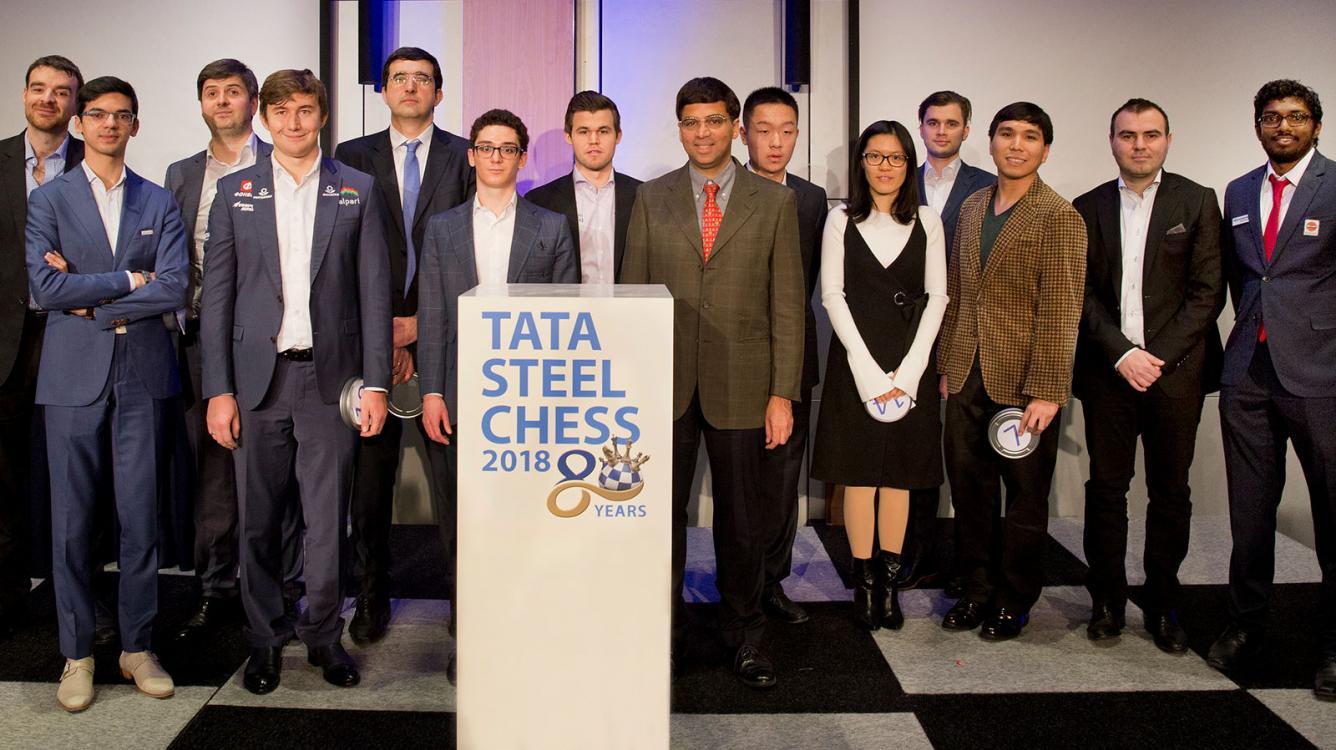 80th Tata Steel Starts Saturday With Chess.com Broadcast