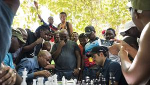 Nakamura Visits South African Chess Events
