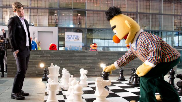 Mamedyarov Surges As Tata Steel Goes Sesame Street