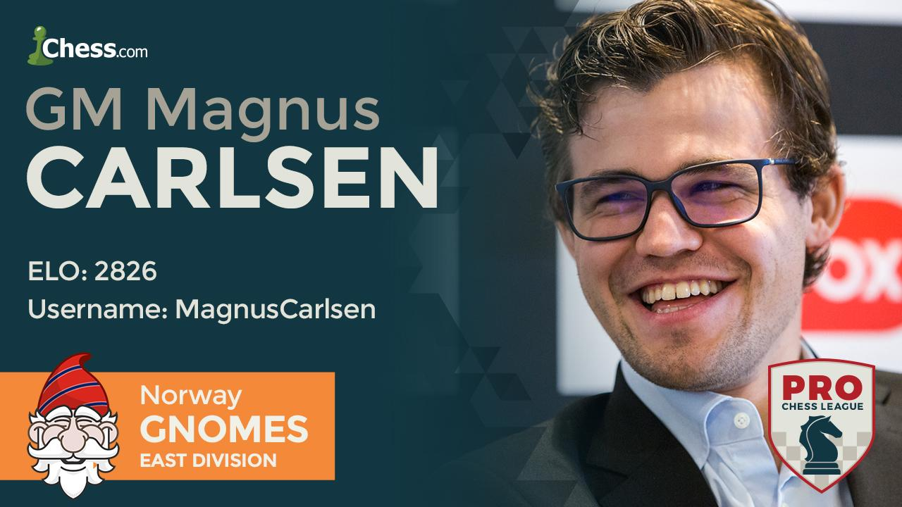 Carlsen Perfect In PRO Chess League Round 1