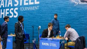 Tata Steel: Giri Beats Mamedyarov, Carlsen Blunders But Wins